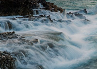 currumbin rock water movement travel is sweet