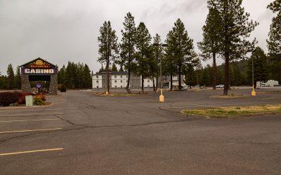 Boondocking Kla-Mo-Ya Casino Chiloquin Oregon
