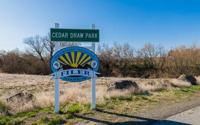 Boondocking Cedar Draw Park