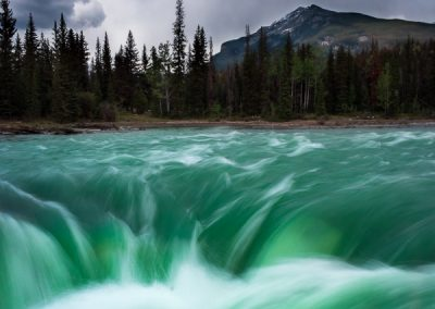 travel is sweet athabasca falls
