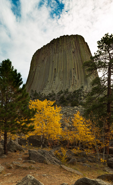 devils tower travel is sweet carpark