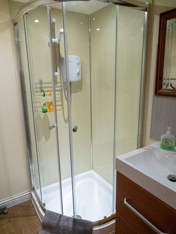 frating the shower travel is sweet