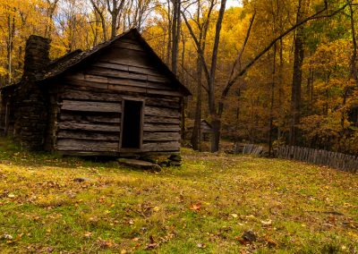 Great Smoky Mountains Vintage Cabin Travel is Sweet