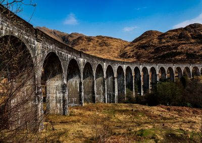 glen finnan viaduct travel is sweet