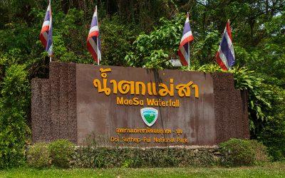 Mae Sa Waterfall Thailand