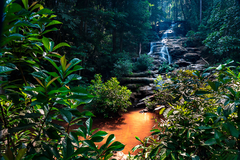 pha charoen waterfall pool travel is sweet