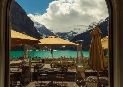 lake louise fairmont view travel is sweet