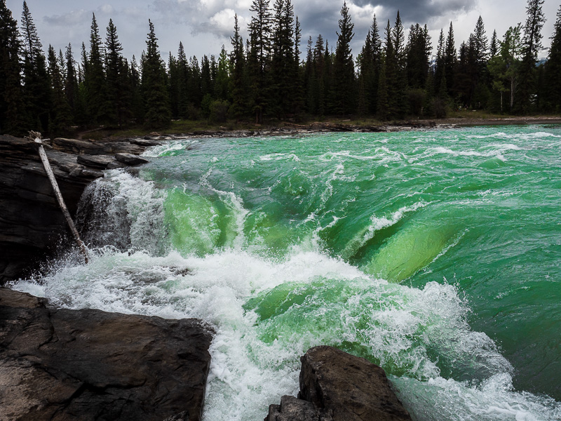 top 10 destinations athabasca falls force travel is sweet