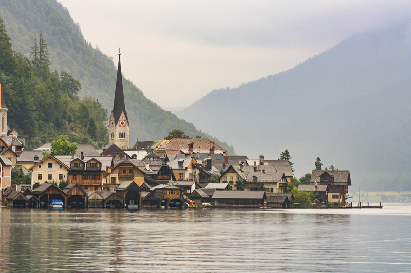hallstatt church travel is sweet
