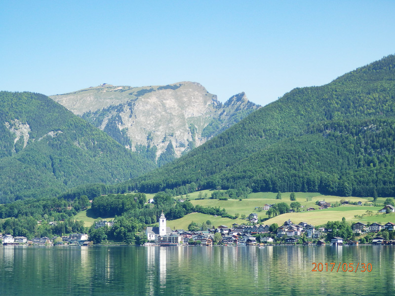 st wolfgang from lake travel is sweet