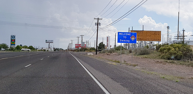 tucson to deming sign travel is sweet
