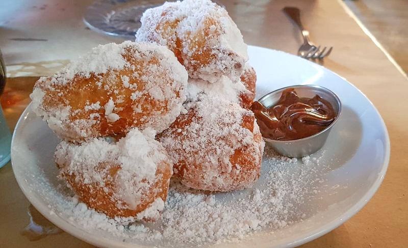 angel oak cafe beignet travel is sweet