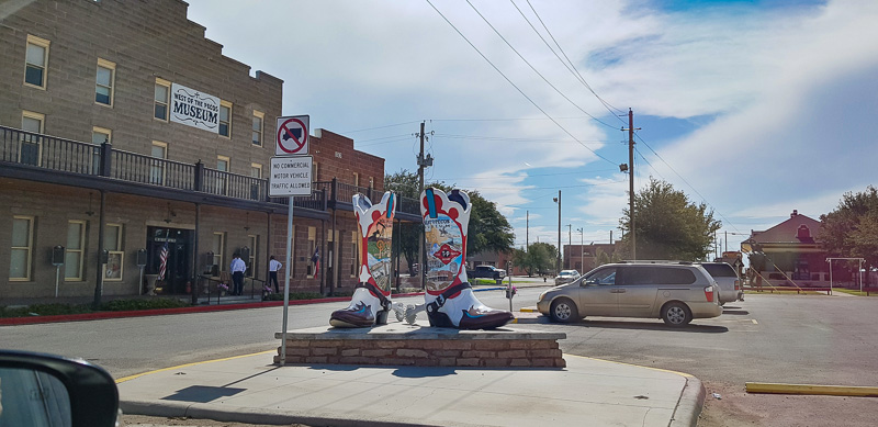 roswell to fort stockton texas boots travel is sweet