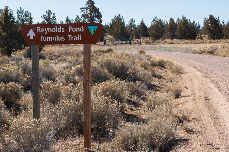 boondocking reynolds pond oregon entrance