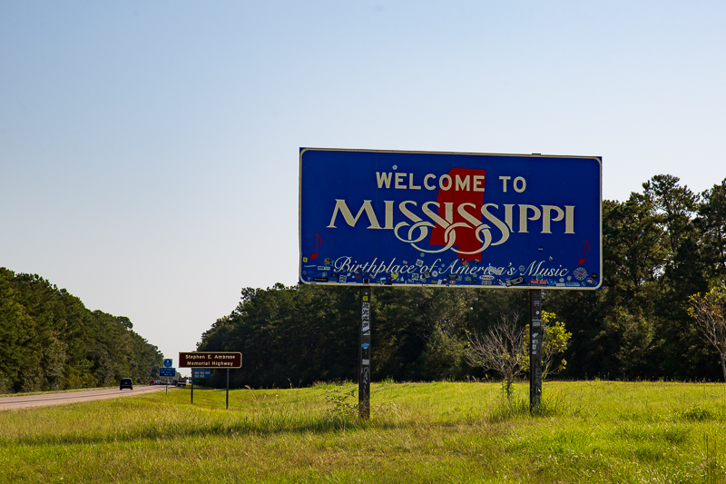 mississippi sign travel is sweet