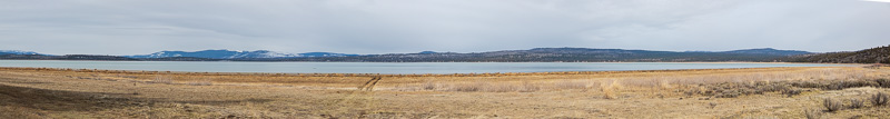 boondocking eagle lake california panorama