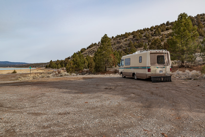 boondocking eagle lake california cup parking lot