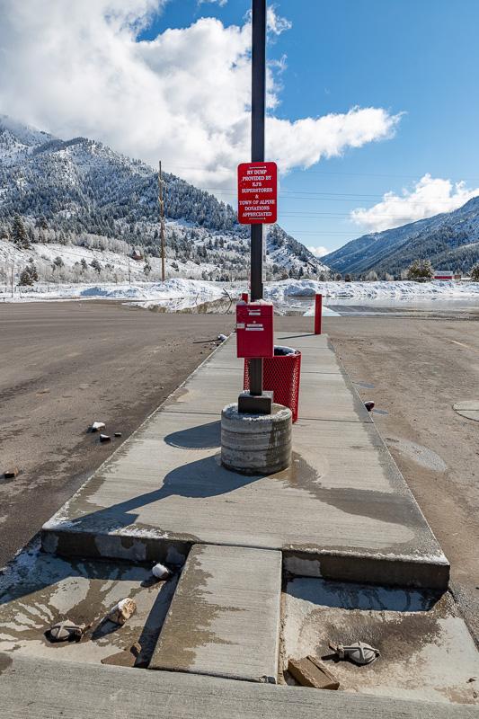 boondocking kj's alpine dump station
