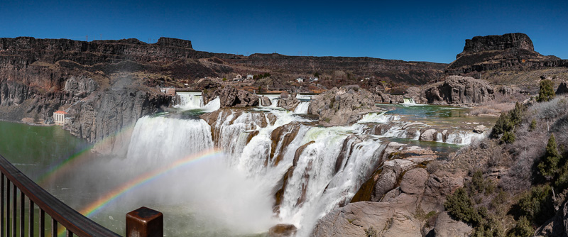 twin falls idaho shoshone falls panorama 2