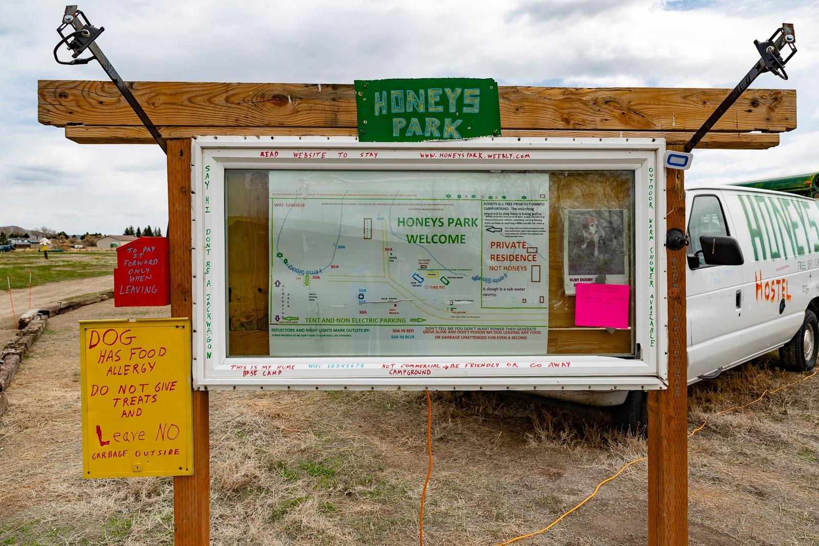 travel is sweet honeys sign
