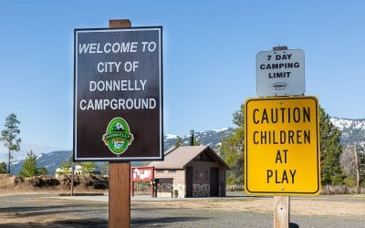 Boondocking Donnelly Campgrounds Idaho